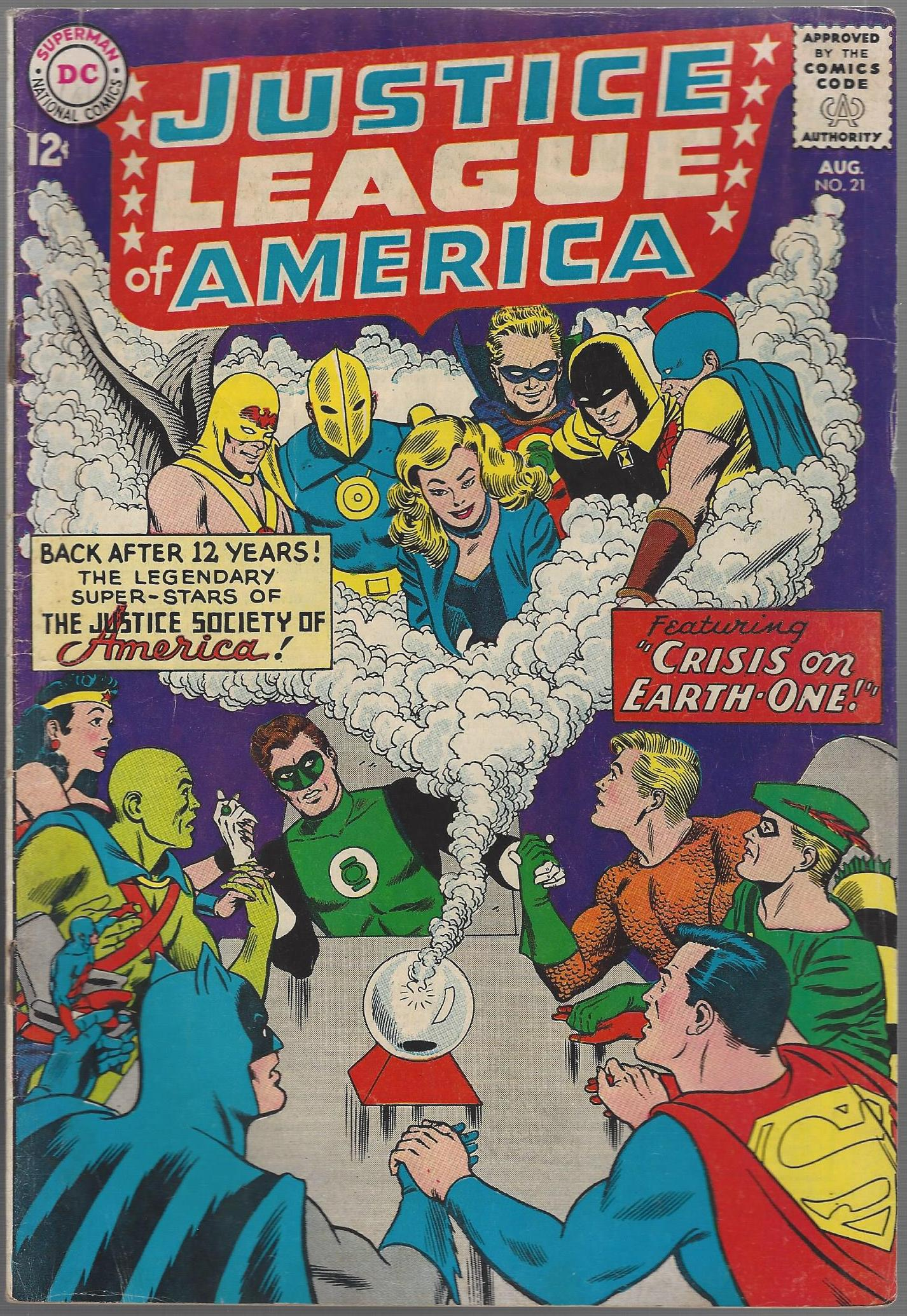 Justice League Of America V1 Issue 21 On Ebay Comic Auctions Comicspriceguide Com Forums