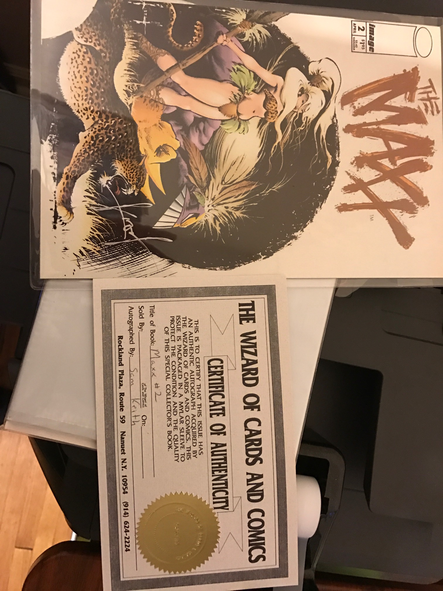 Question about autographed comic    Please help - CPG
