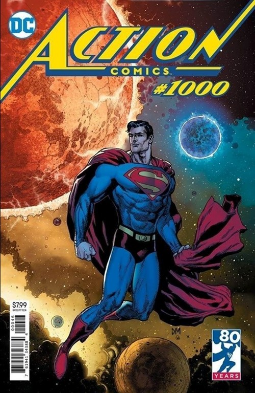 ACTION COMICS #1000-FRIED
