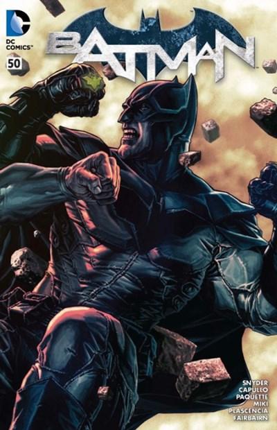 2016 WonderCon Batman #50 David Finch Exclusive Variant WRAPAROUND COVER