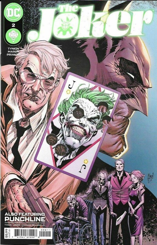 (DC) Cover for Joker, The #2 1st Appearance of Vengeance (Bane's Daughter)