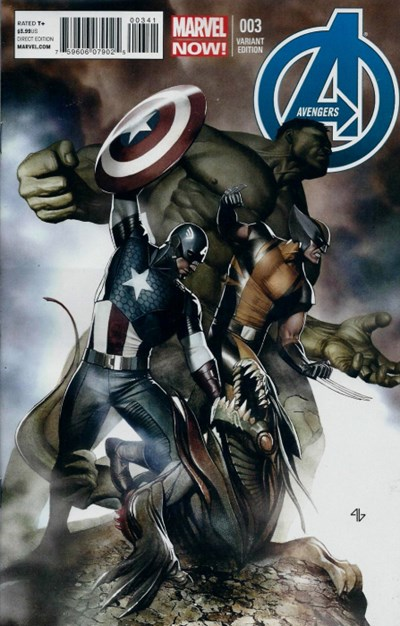(Marvel) Cover for Avengers, The #3 Adi Granov Variant Cover. Limited 1 for 50.