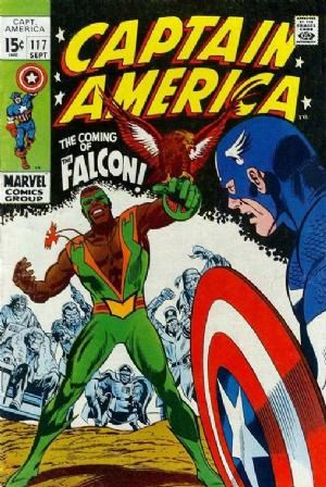 (Marvel) Cover for Captain America #117 1st Appearance of the Falcon (Sam Wilson)