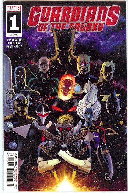 GUARDIANS OF THE GALAXY #1-WALM
