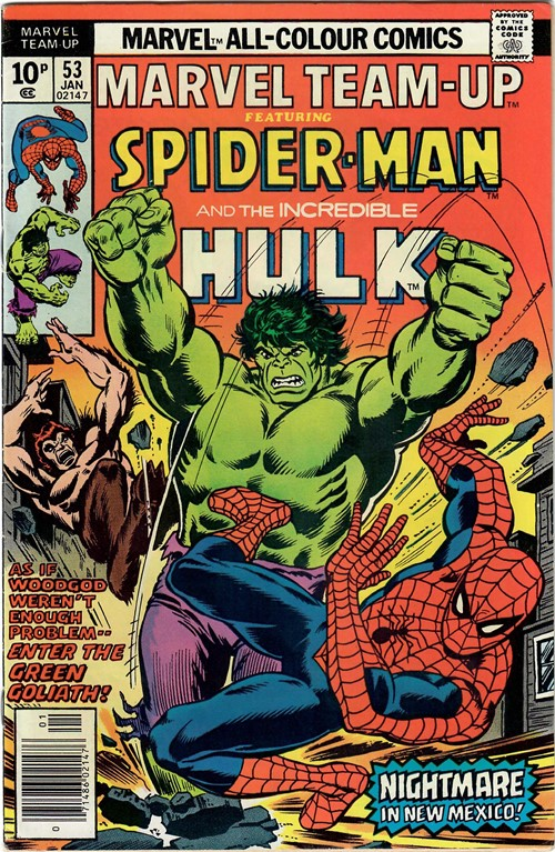 MARVEL TEAM-UP #53A