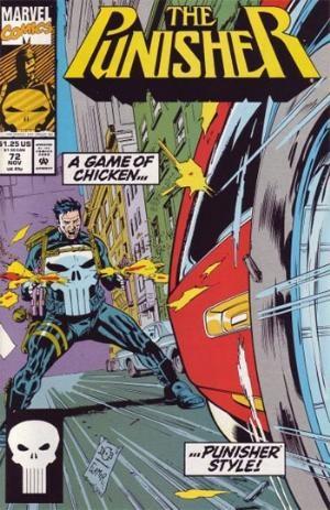 1992-9.4 PUNISHER # 71 COMIC