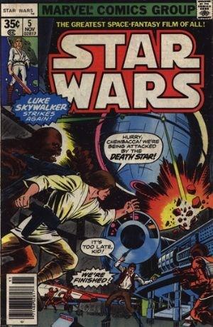 Star wars comic book value
