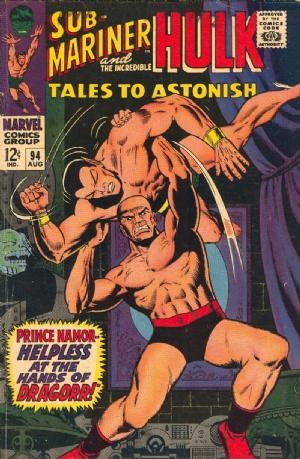 (Marvel) Cover for Tales To Astonish #94 1st and Only Appearance of Gnome and Dragorr