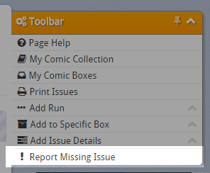 Report Missing Issues